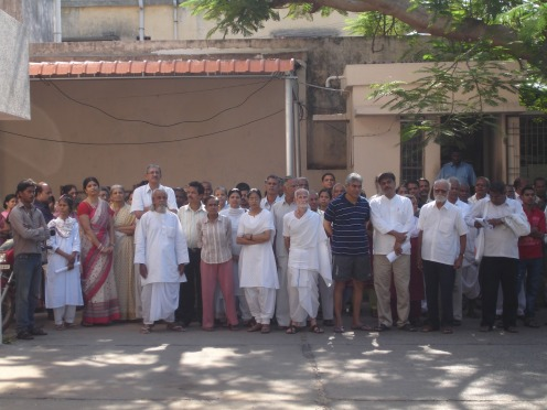 Group led by Ashok Anand to the Puducherry Collector